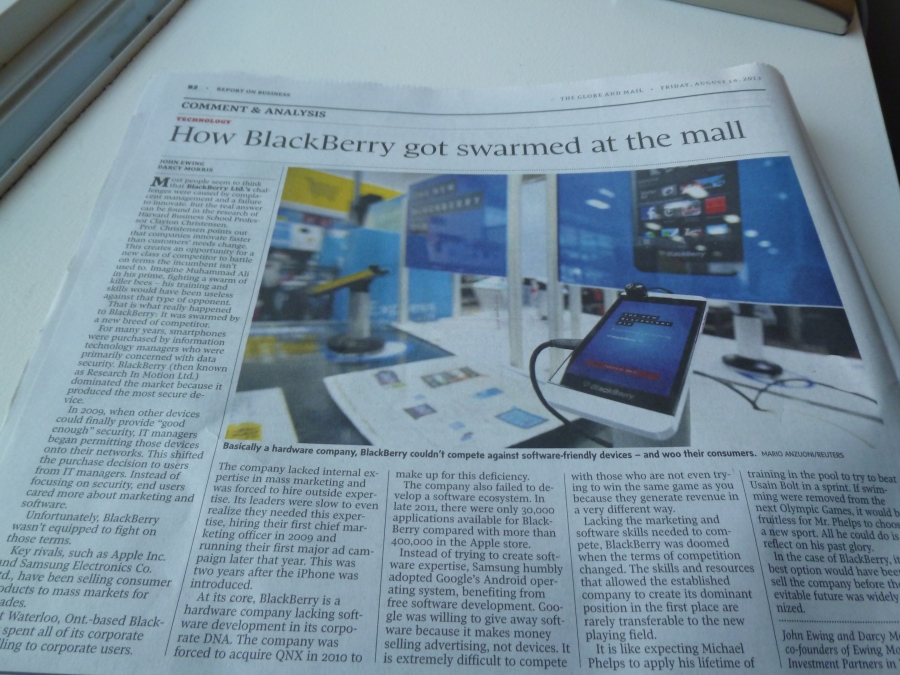 Blackberry Swarmed By Ignorance