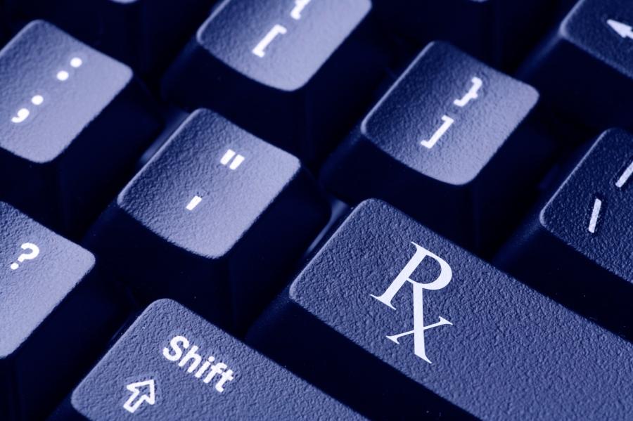 Online Prescription Concept